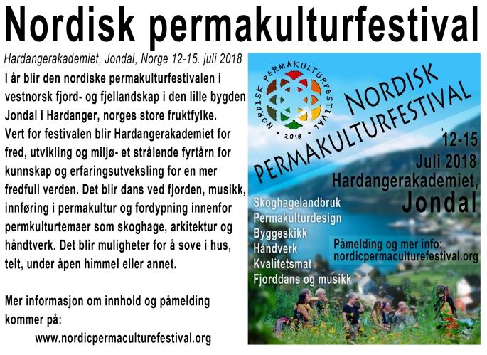 Festival annonse
